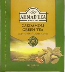Ahmad Cardamom Green Tea 100 bags