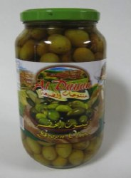 Al Dayaa Green Olives 900g