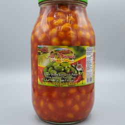 Al Dayaa Green Olives with Shatta 2kg