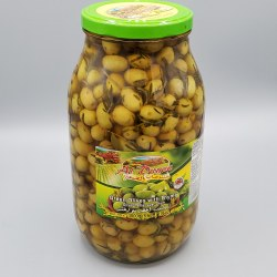 Al Dayaa Green Olives with Thyme, 2kg