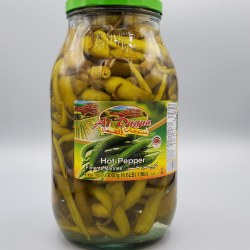 Al Dayaa Pickled Hot Peppers 2 kg