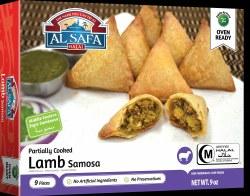 Al Safa Lamb Samosa 9pc