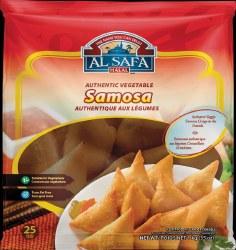 Al Safa Vegetable Samosa 25pc