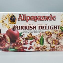 Alipasazade Turkish Delight Pomegranate & Pistachio 1lb