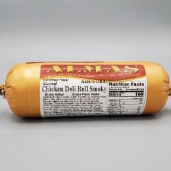 Almas Chicken Deli Roll, Smokey, Halal, 1lb