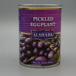 Alshark Baby Eggplant Pickles 19oz Can