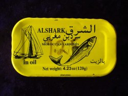 Alshark Sardines in Oil 4oz