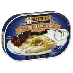 Alstertor Herring Fillets in Mustard 7 oz