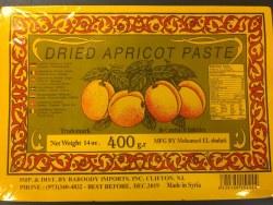 El Shalati Amaredine (Apricot) 400g