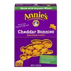 Annie's Cheddar Bunnies Snack Crackers 6.5oz