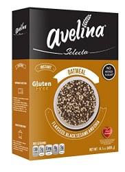 Avelina Oatmeal Flaxseed, Black Sesame and Chia 14oz