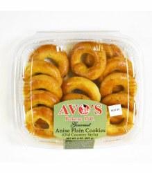 Avo's Anise Plain Cookies 8oz