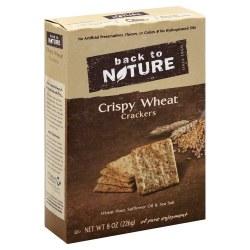 Back to Nature Crispy Wheat Crackers 8oz