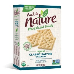 Back to Nature Classic Saltine Crackers 7oz