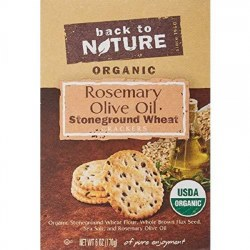 Back to Nature Stoneground Wheat Rosemary Olive Oil 6oz