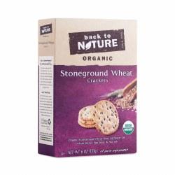 Back to Nature Stoneground Wheat Cracker6oz
