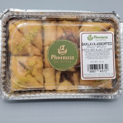 Phoenicia Baklava Assorted 12 pc