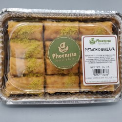 Phoenicia Baklava Pistachio 12 pc