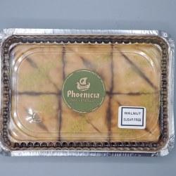 Phoenicia Baklava Walnut Sugar Free 12 pc