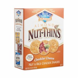 Blue Diamond Cheddar Cheese, Nut and Rice Cracker Snacks 4.25oz