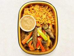 Phoenicia Beef Fajita & Rice Meal