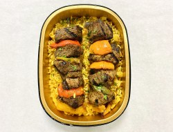 Phoenicia Beef Kabob with Rice Pilaf Meal