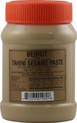 Beirut Tahini plastic jar 1 lb