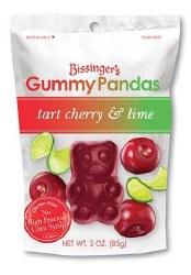 Bissinger's Gummy Panda Tart Cherry and Lime 3oz
