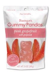 Bissinger's Gummy Panda Pink Grapefruit 3oz