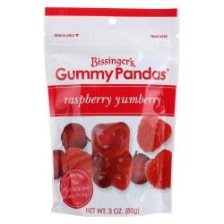 Bissinger's Gummy Panda Raspberry Yumberry 3oz
