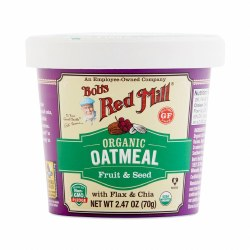 Bob's Red Mill Oatmeal Cup Fruit and Seed 2.47oz