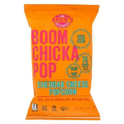 Angie's Boomchicapop Cheddar Cheese Pop corn 50oz
