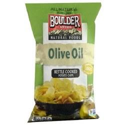 Boulder Kettle Cooked Potato Chips Olive oil 5oz