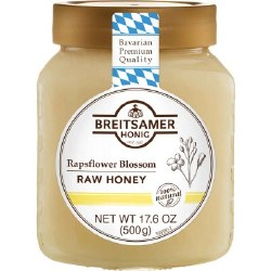 Breitsamer Rapsflower Blossom Honey 500g