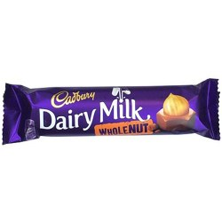 Cadbury Dairy Milk Whole Nut Chocolate 45g