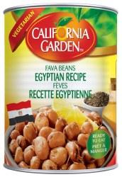 California Garden Egyptian Recipe Fava Beans 15oz