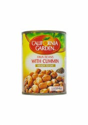 California Garden Fava Beans with Cumin 15oz