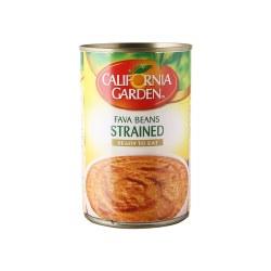 California Garden Fava Beans Strained 15oz