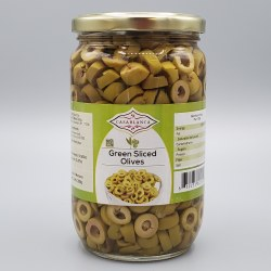 Casablanca Green Olive Slices 380g