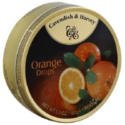 Cavendish and Harvey Orange Drops 5.3oz