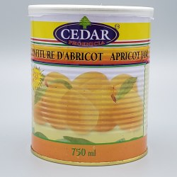 Cedar Apricot Jam 32oz