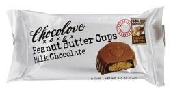 Chocolove MIlk Chocolate Peanut Butter Cups 2 pc