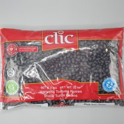 Clic Black Turtle Beans 2lb