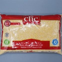 Clic Corn Meal Yellow 2lb