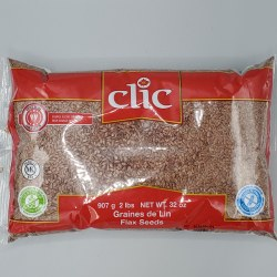 Clic Flax Seeds 2lb
