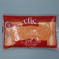 Clic Red Lentil Split 2lb
