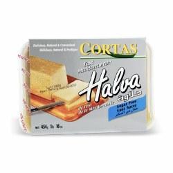 Cortas Halva Plain Sugar Free 1lb