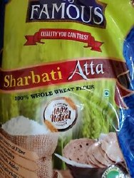 Famous Sharbati Atta Flour 20 lb