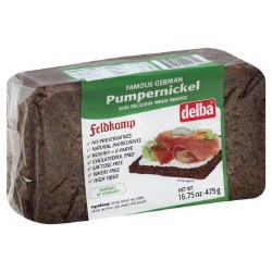Feldkamp Pumpernickel Bread 475g