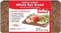 Feldkamp Whole Rye Bread 475g